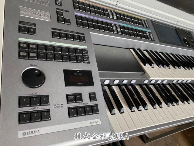 雅馬哈電子琴 ELECTONE STAGEA ELS-02C 正面左側圖片
