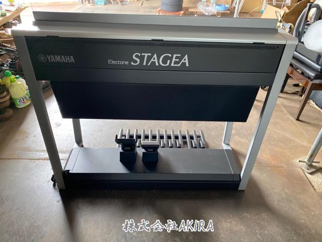 雅馬哈電子琴 ELECTONE STAGEA ELS-02C 背面 圖片