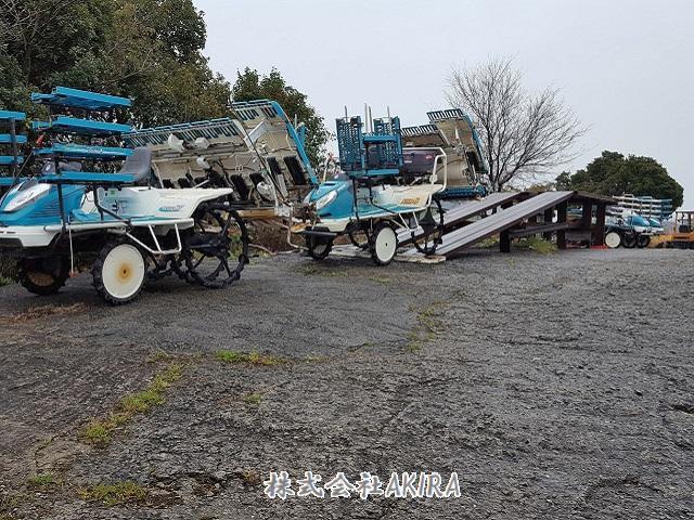 WR80D,EP8D,NSD8クボタ田植機 買取